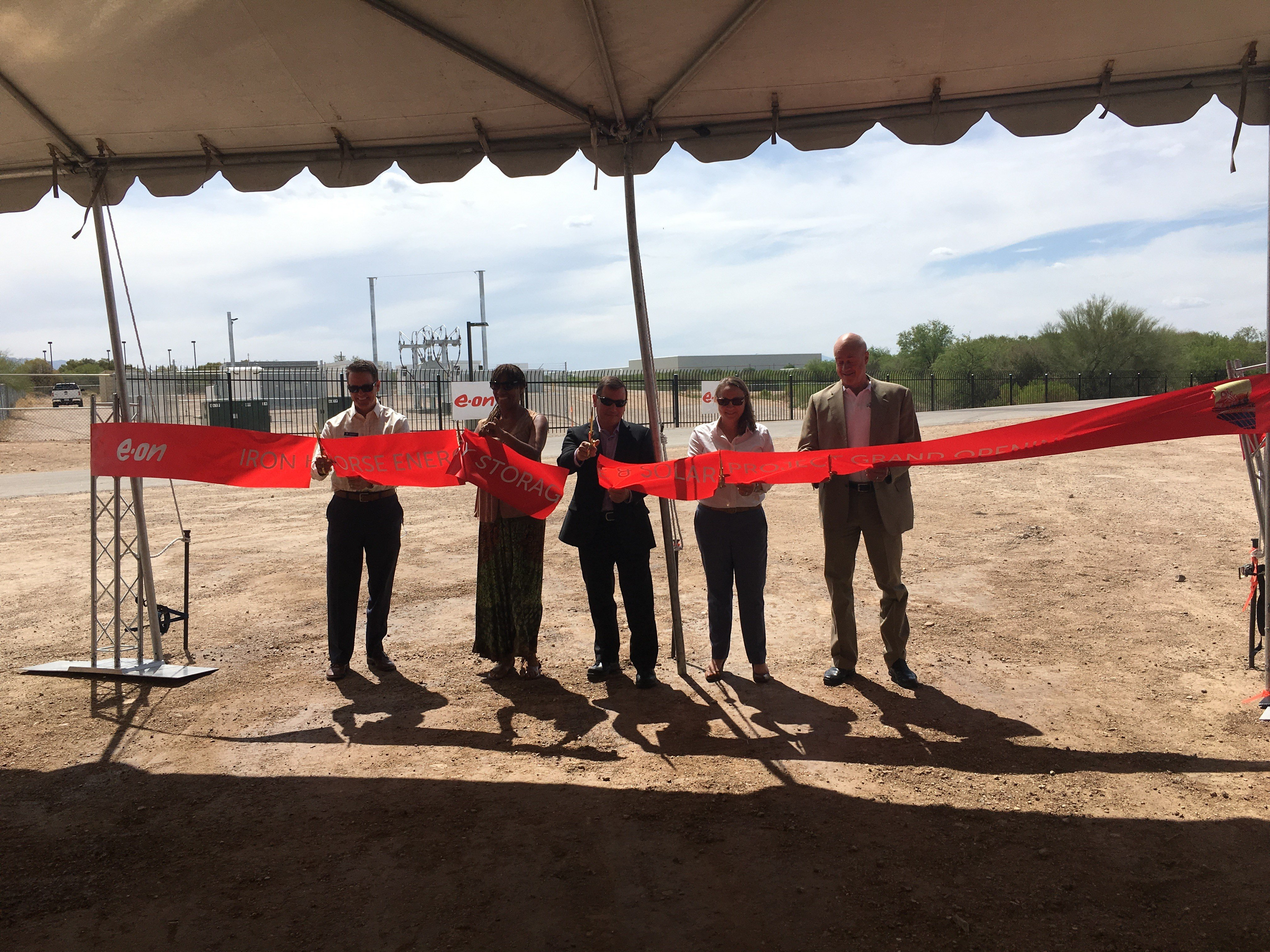 Landis+Gyr Celebrates Completion of 10 MW Energy Storage Project