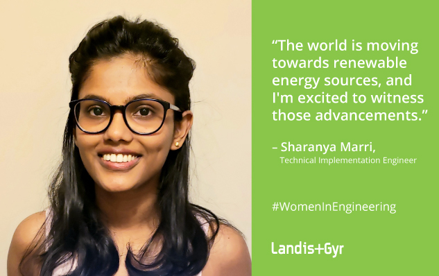 Our Green Team: Sharanya Marri, Technical Implementation Engineer